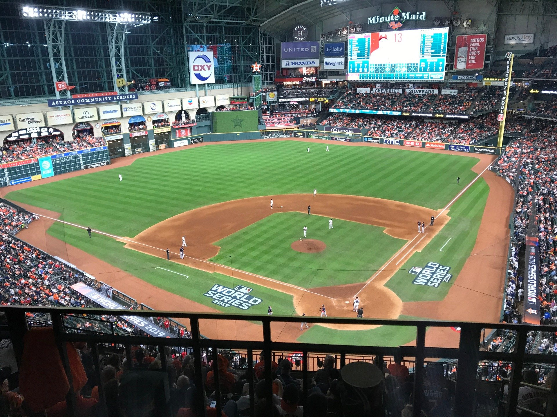 Minute Maid Park Section 417 Row 2 Seat 16