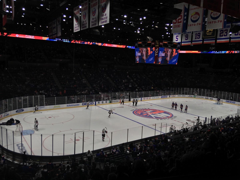 Nassau Veterans Memorial Coliseum Section 209 Row 2 Seat 3