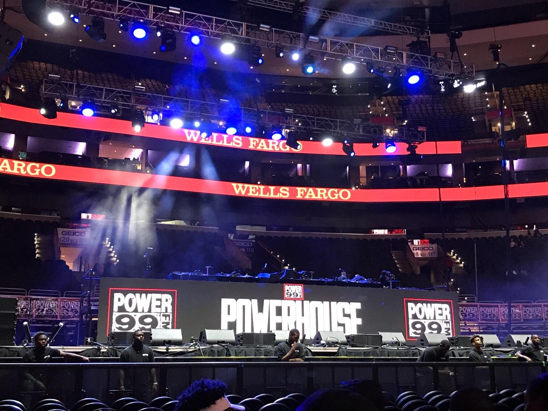 Wells Fargo Center Section Floor Row 12 Seat 7