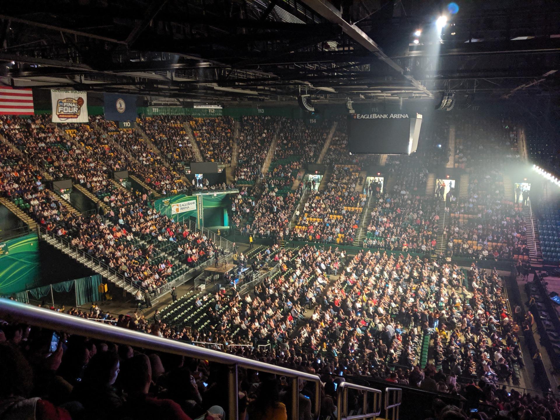 EagleBank Arena Section 130
