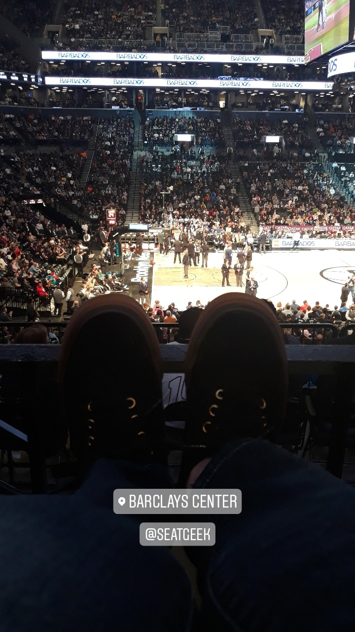 Barclays Center Section 125 Row 4 Seat 8