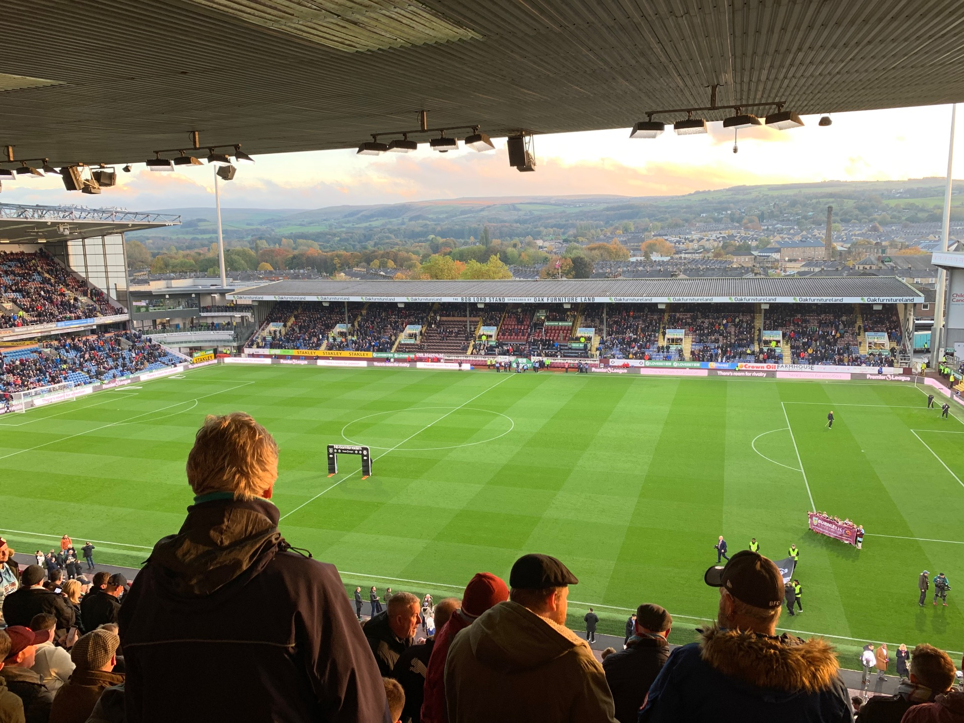 Turf Moor Section Jimmy Hargreaves Upper Row Y Seat 59
