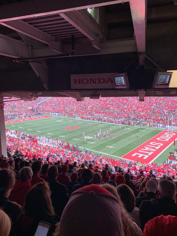 Ohio Stadium Section 12B Row 14 Seat 3
