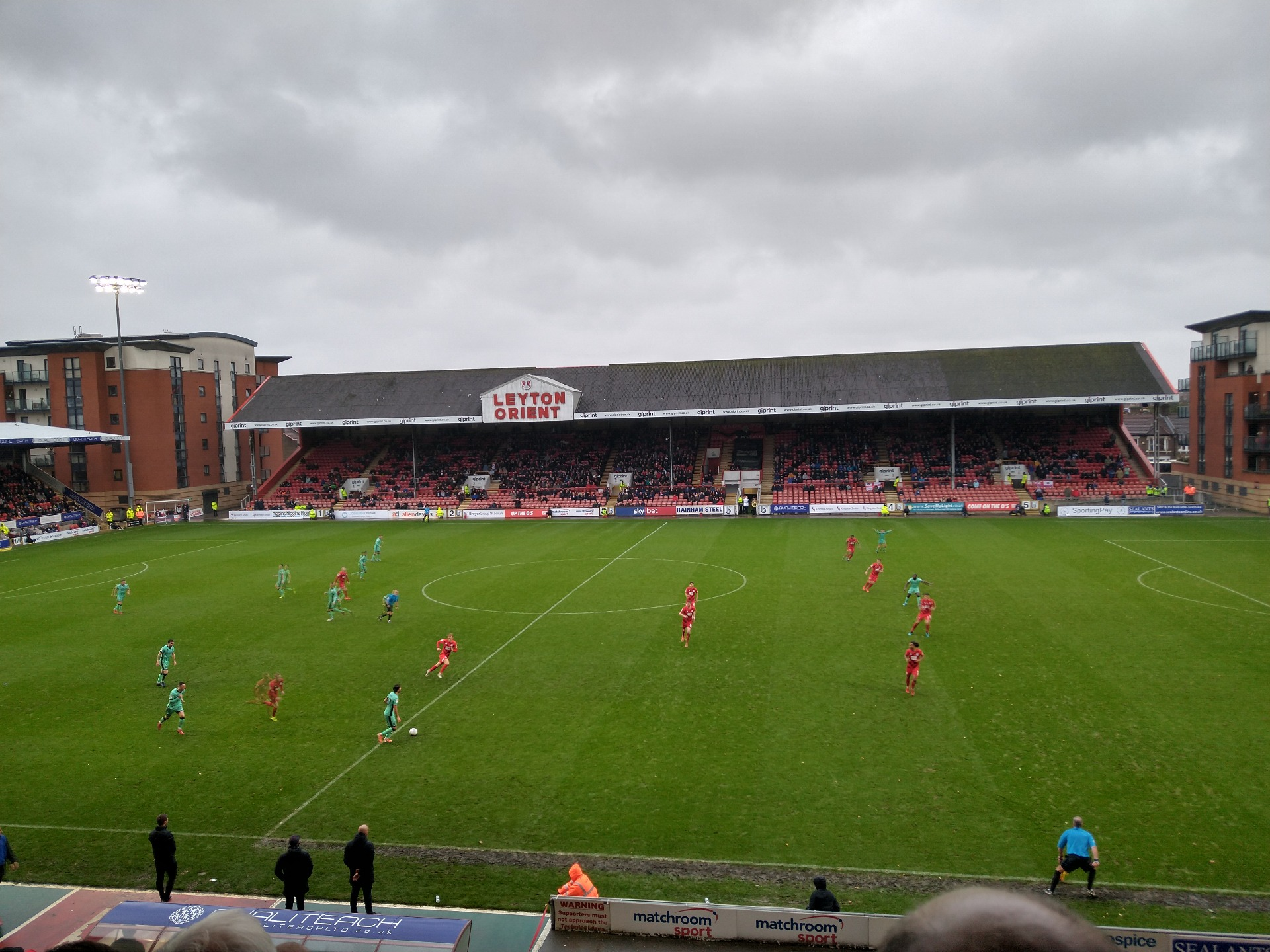Brisbane Road Section West Row R Seat 69