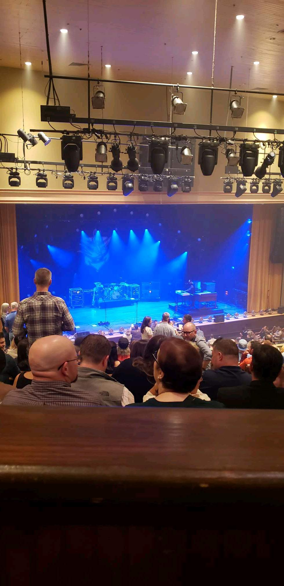 Ryman Auditorium Section Bal-14 Row P Seat 2