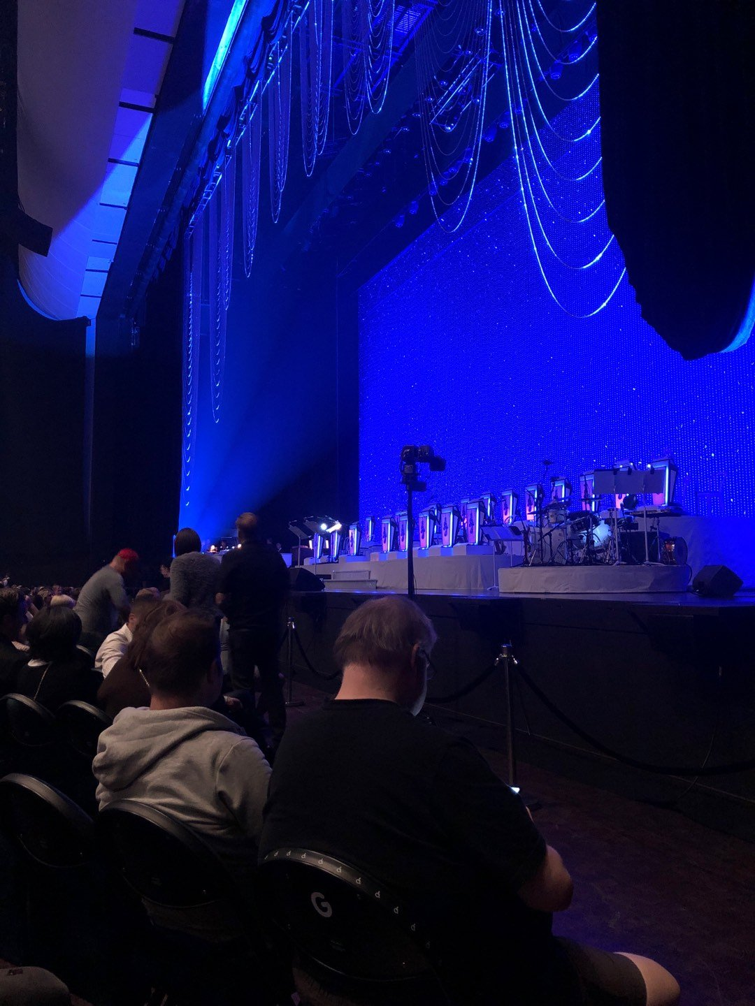 Park Theater at Park MGM Section 101 Row J Seat 56