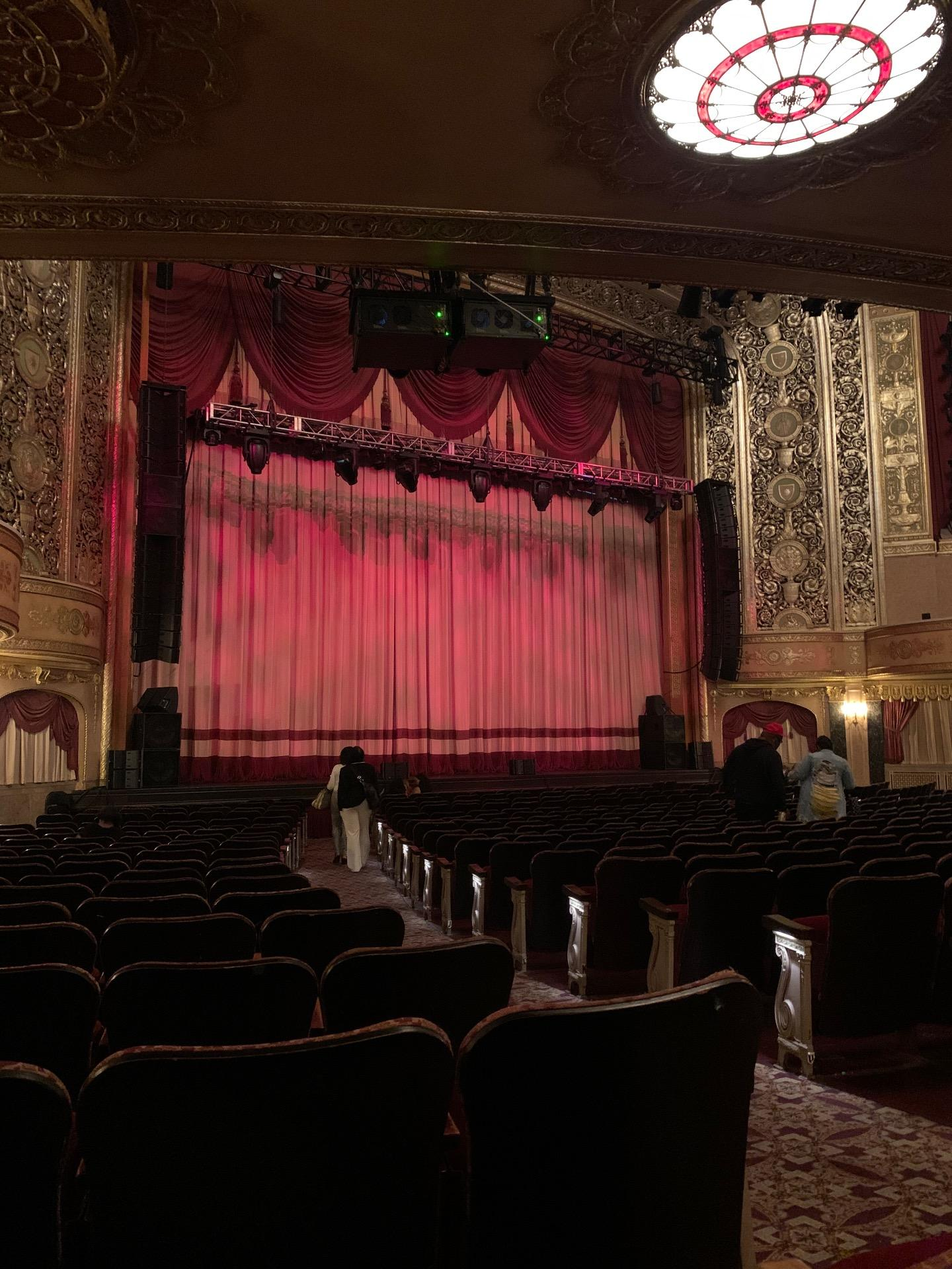 Warner Theatre (Washington, D.C.) Section Orchestra left Row S Seat 5-7