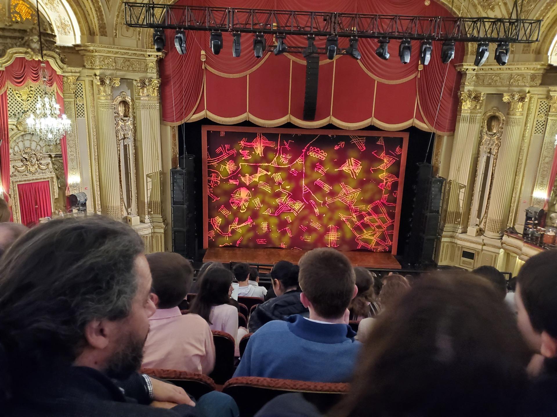 Symphony Hall, Boston Section Mezzanine LC Row H Seat 107