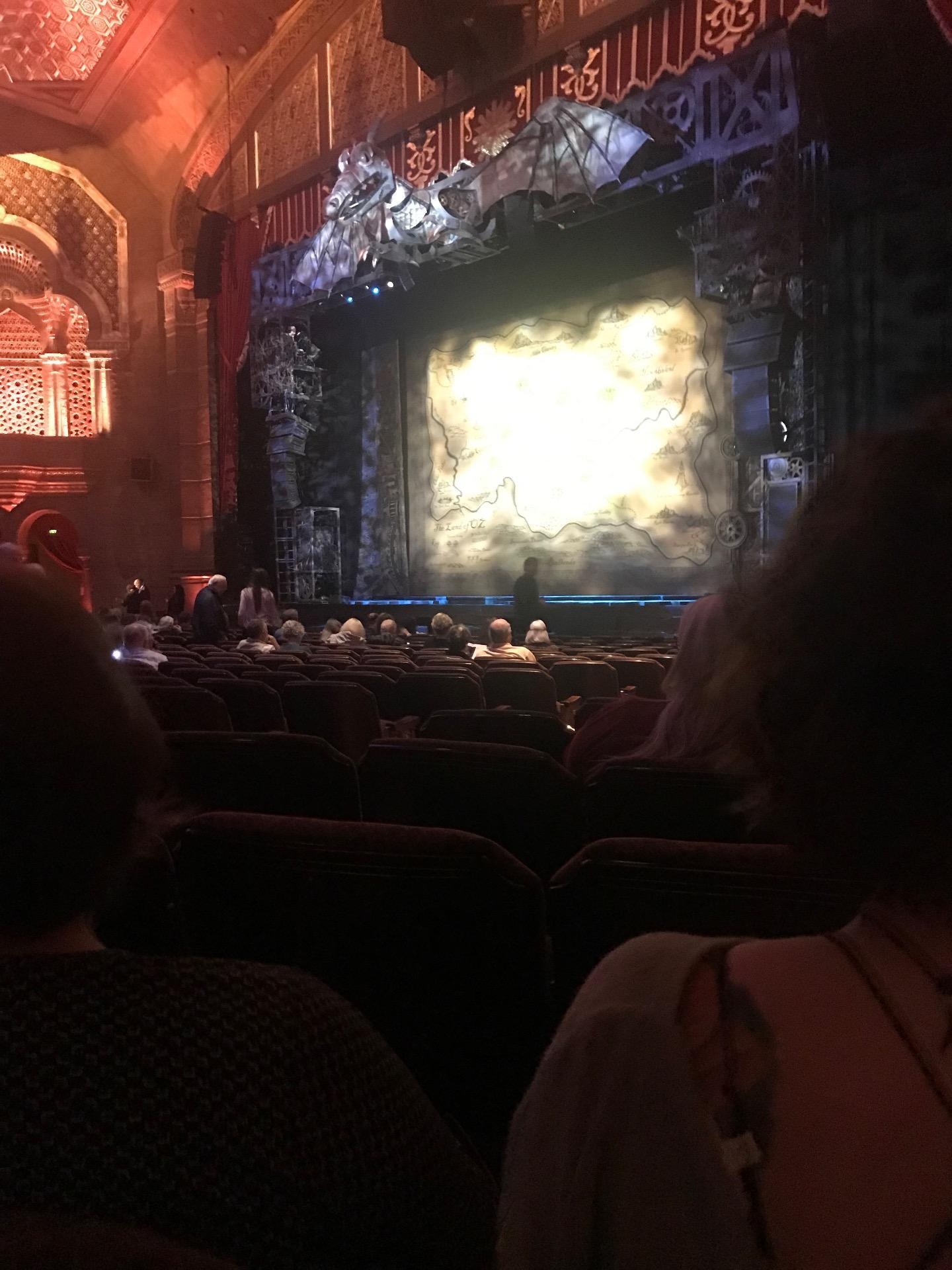 Fox Theatre (Atlanta) Section Orchestra R Row S Seat 12
