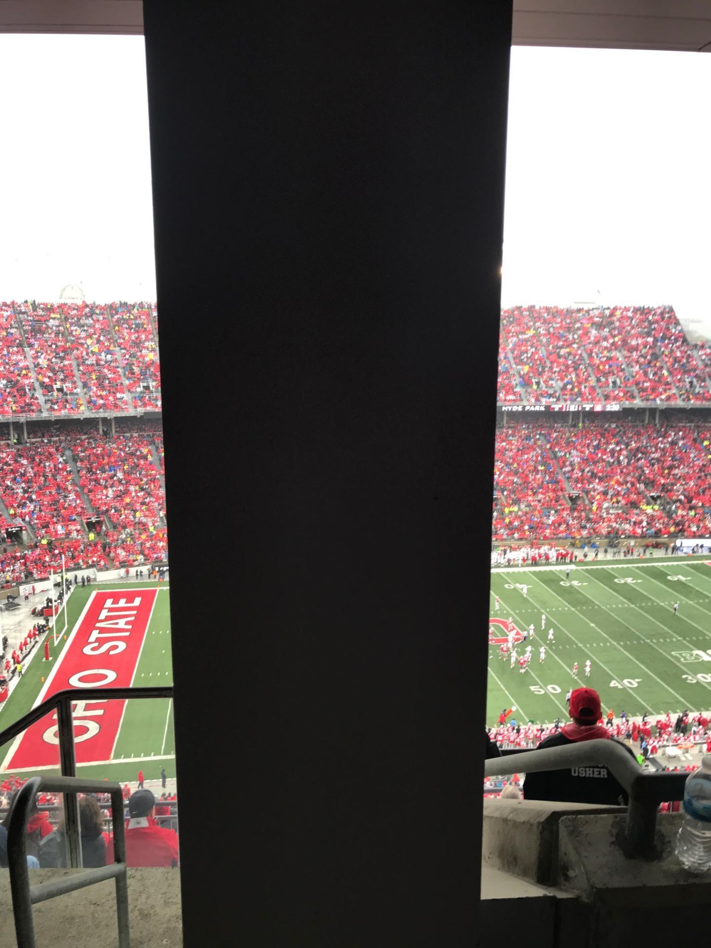 Ohio Stadium Section 19D Row 7 Seat 1