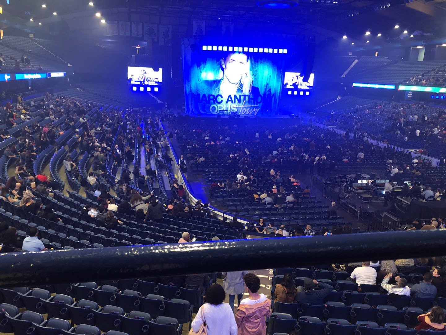 Allstate Arena Section 215 Row A Seat 34