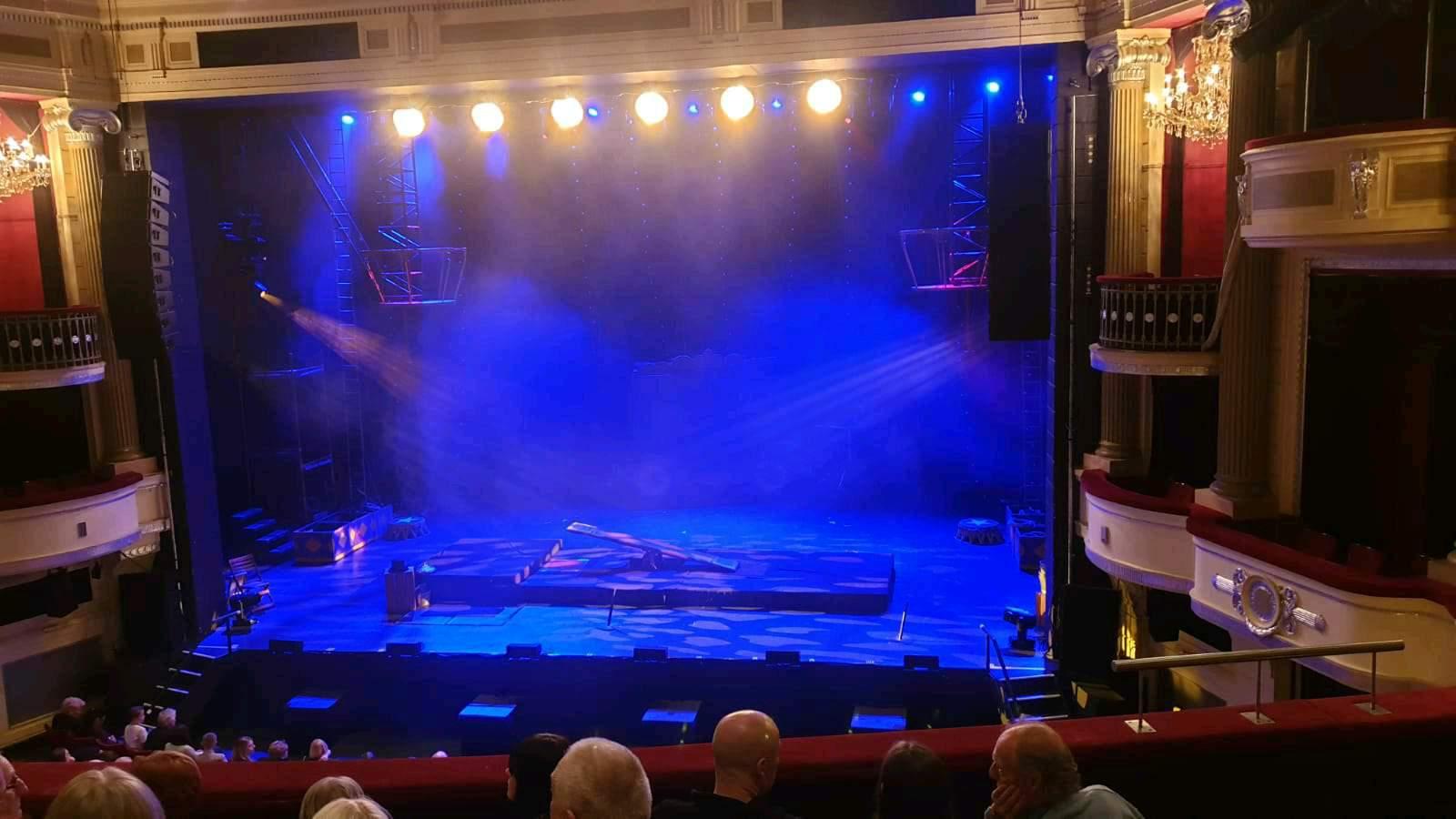Birmingham Hippodrome Section MIDDLE CIRCLE RIGHT Row E Seat 17