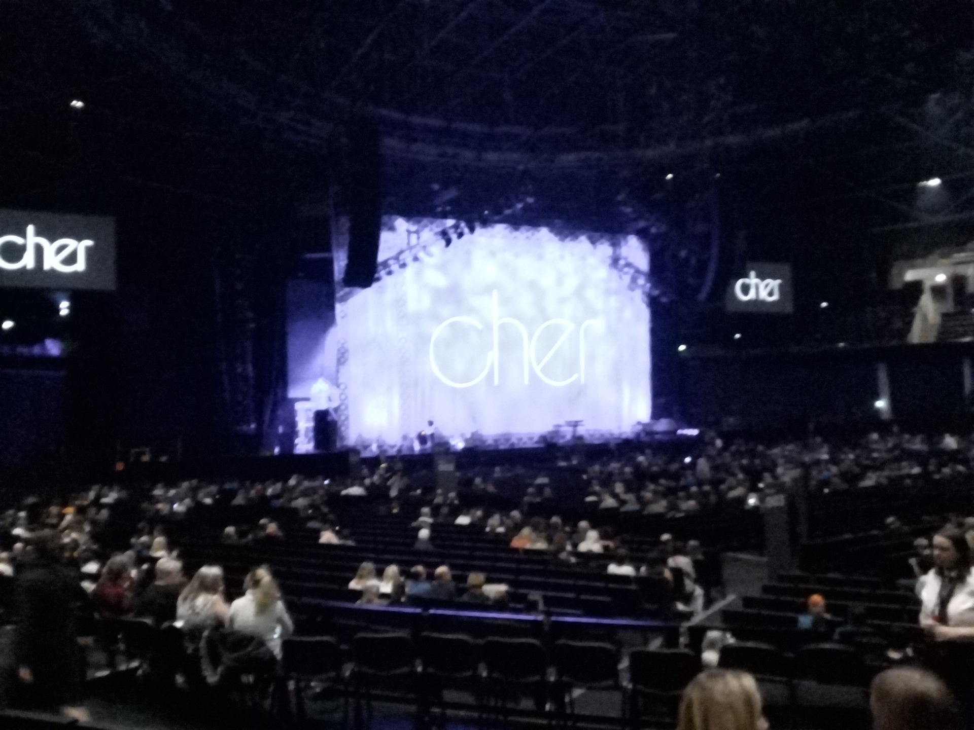 The SSE Hydro Section 052 Row H Seat 65