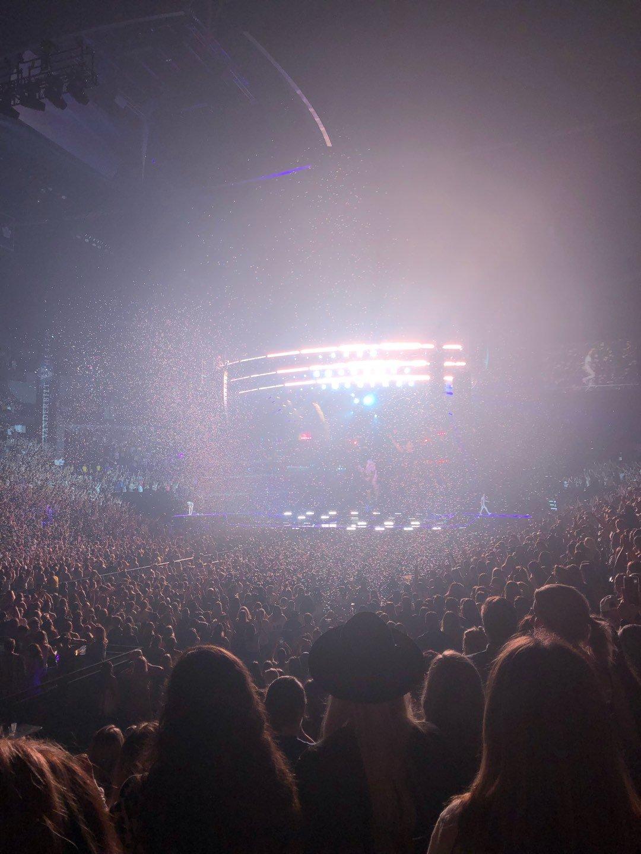 Bridgestone Arena Section 103 Row LL Seat 10