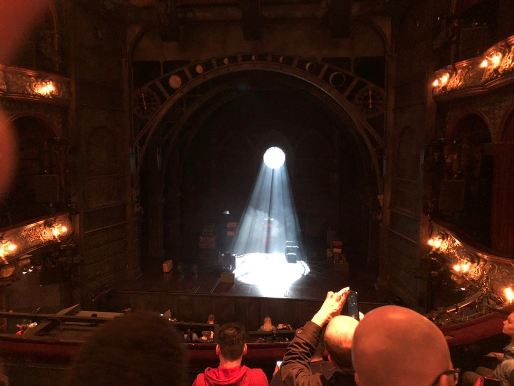 Palace Theatre (West End) Section Dress Circle Row D Seat 16