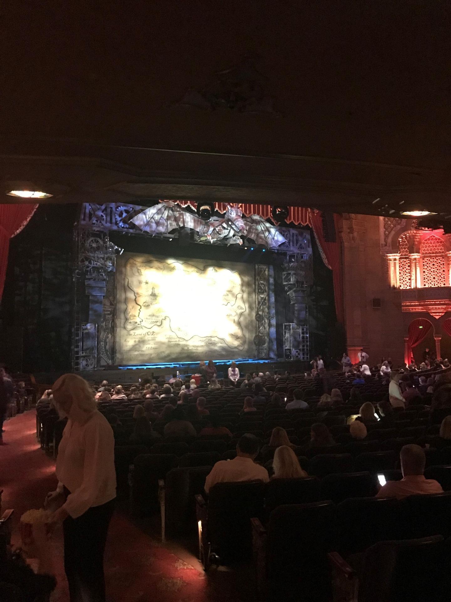 Fox Theatre (Atlanta) Section Orchestra L Row CC Seat 3