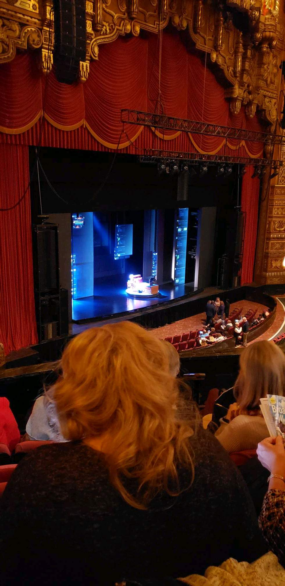 The Fabulous Fox Theatre (St. Louis) Section Mezzanine 1 Row DD Seat 59