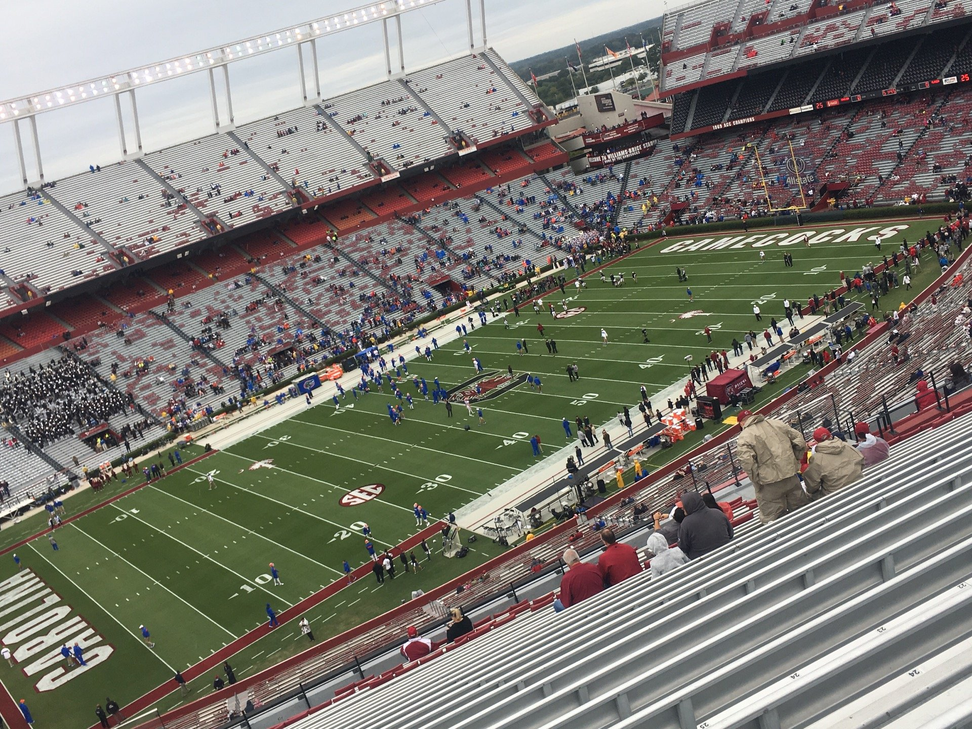 Williams-Brice Stadium Section 302 Row 27 Seat 27