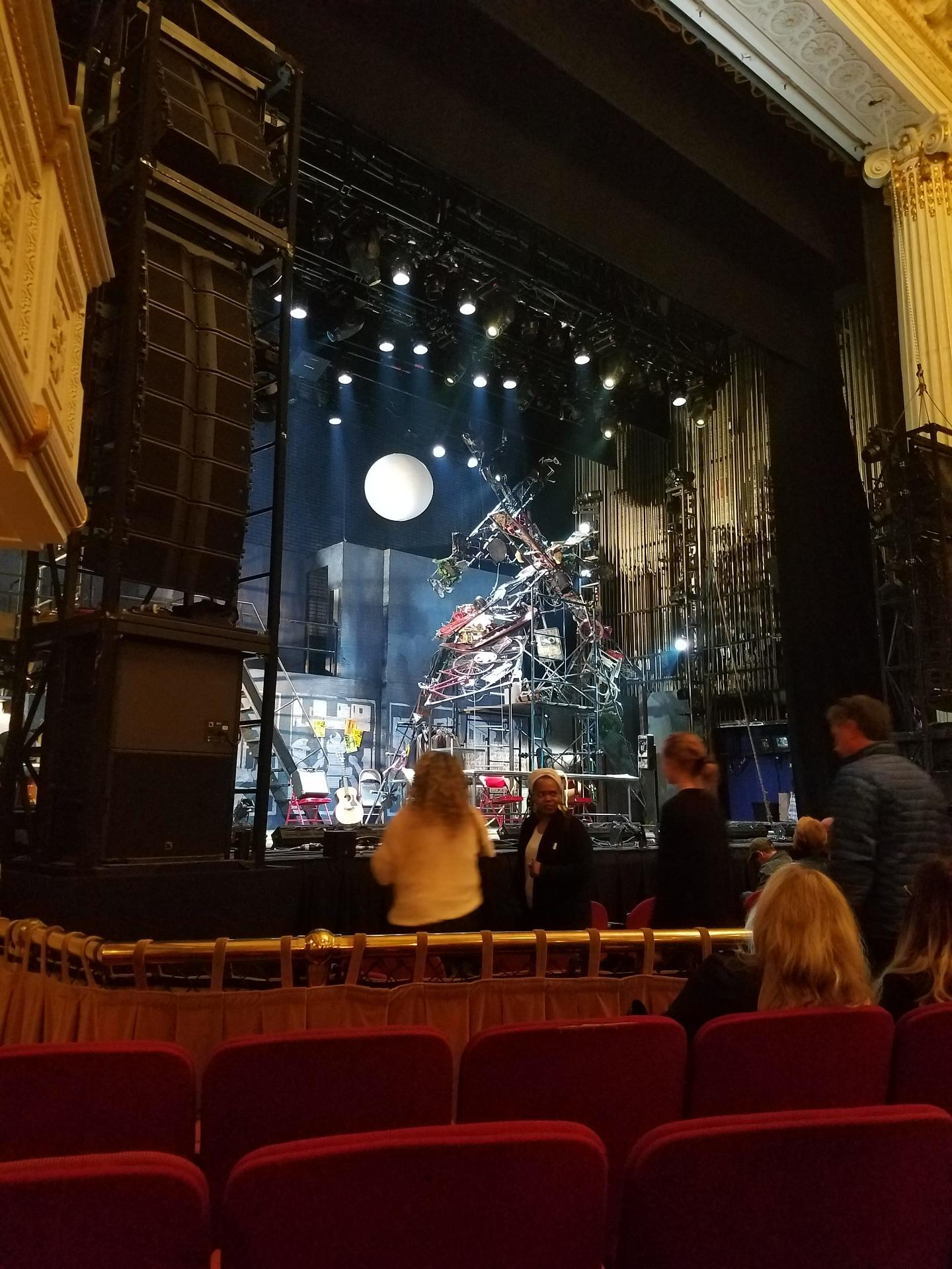 Shubert Theatre (Boston) Section Orchestra Left Row D Seat 11