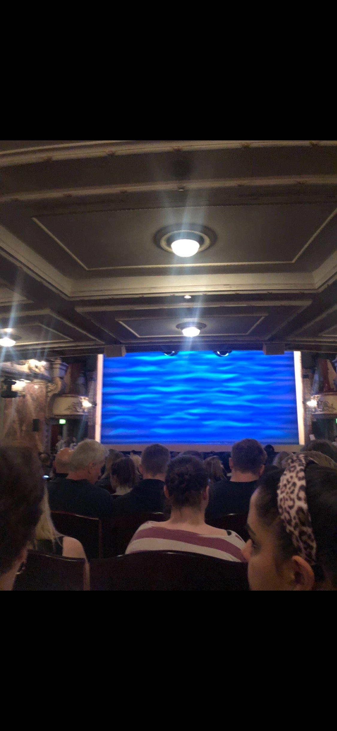 Novello Theatre Section Stalls Row V Seat 13