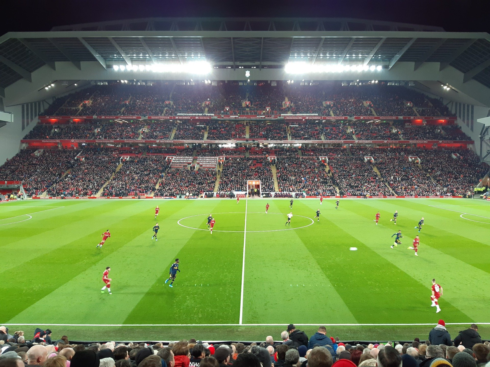Anfield Section KK Row 24 Seat 124