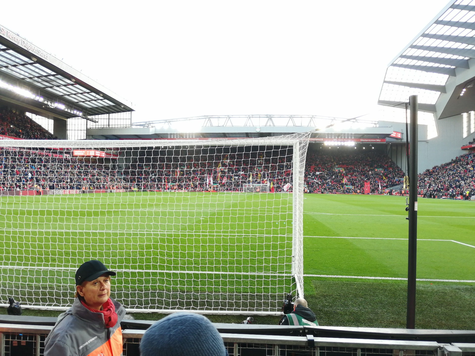 Anfield Section 124 Row 3 Seat 100