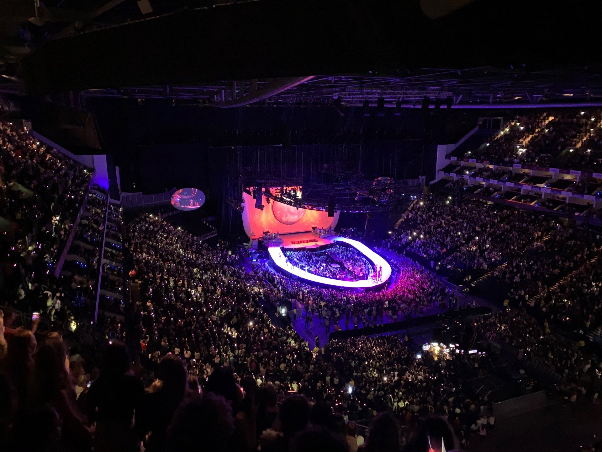 The O2 Arena Section 408 Row Q Seat 463