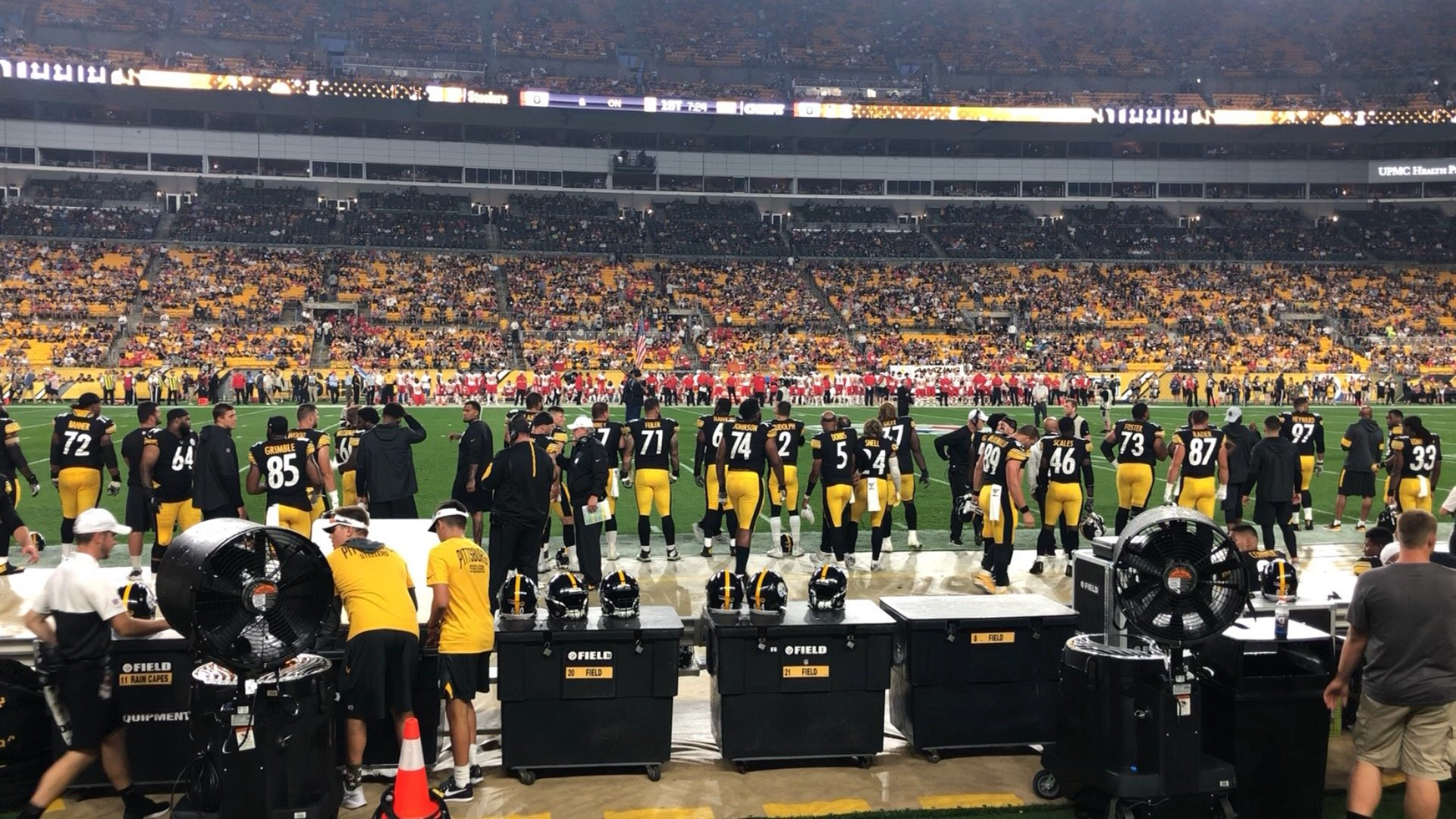 Heinz Field Section 133 Row A Seat 1