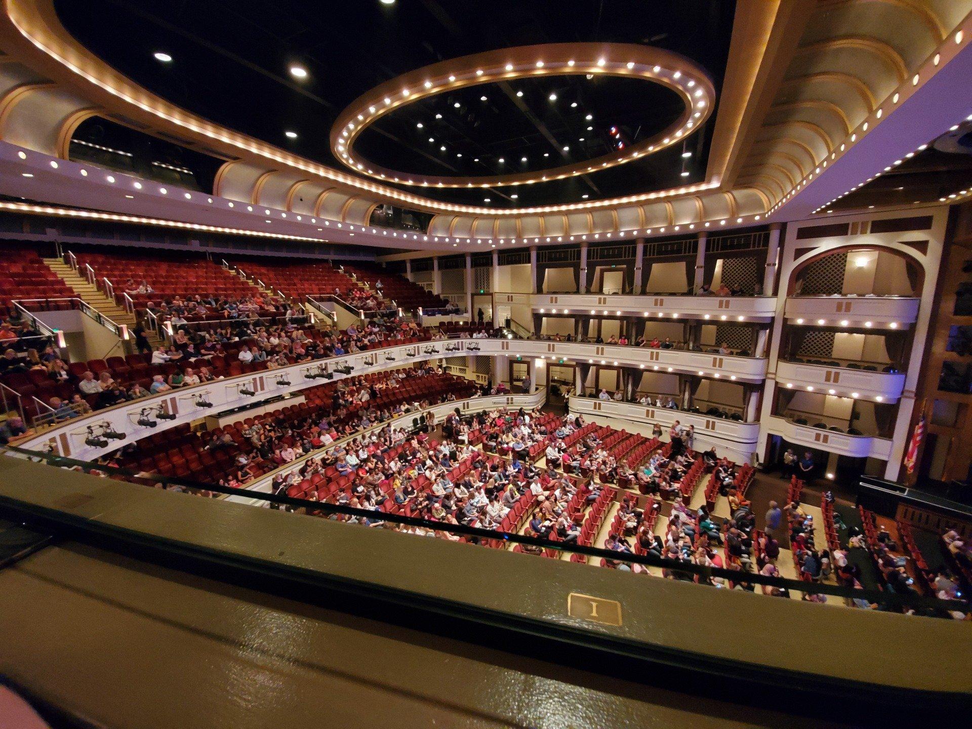 Mahaffey Theatre Section Box Row 34 Seat 1
