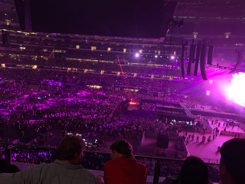 AT&T Stadium Section C309 Row 3 Seat 8