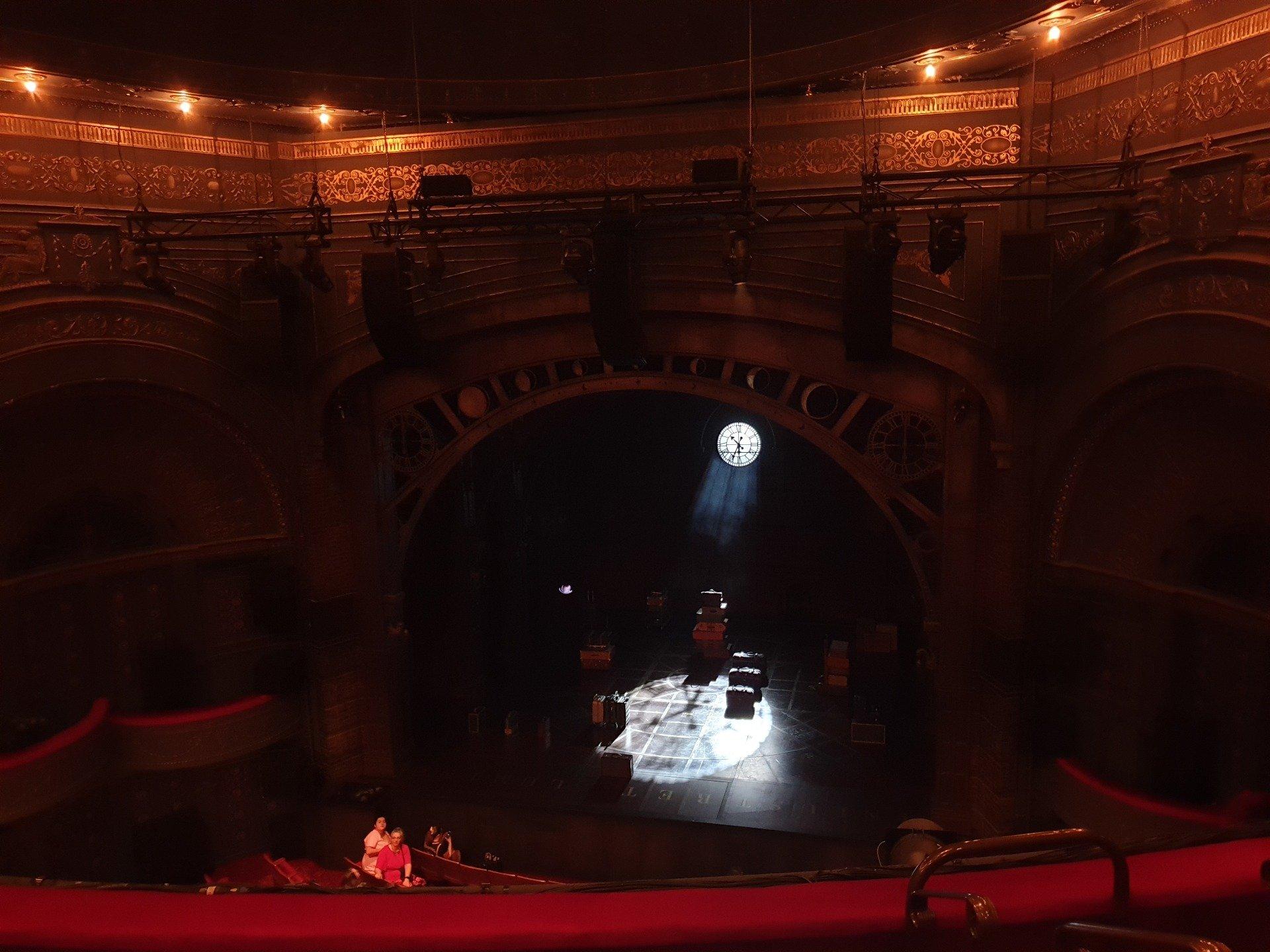 Princess Theatre (Melbourne) Section Grand Circle Row D Seat 30