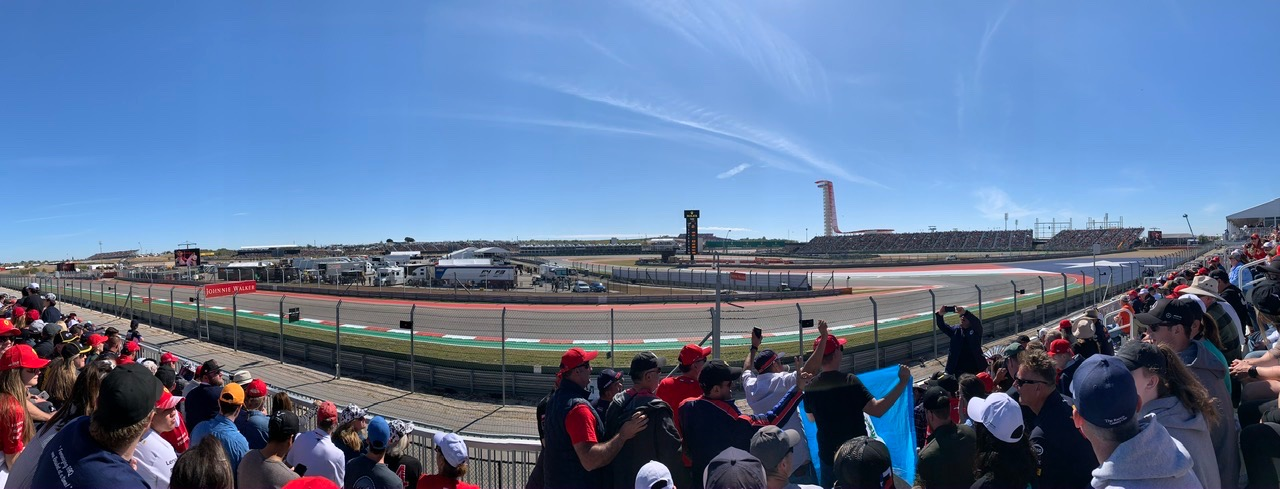 Circuit of the Americas Section 6 Row 6 Seat 11