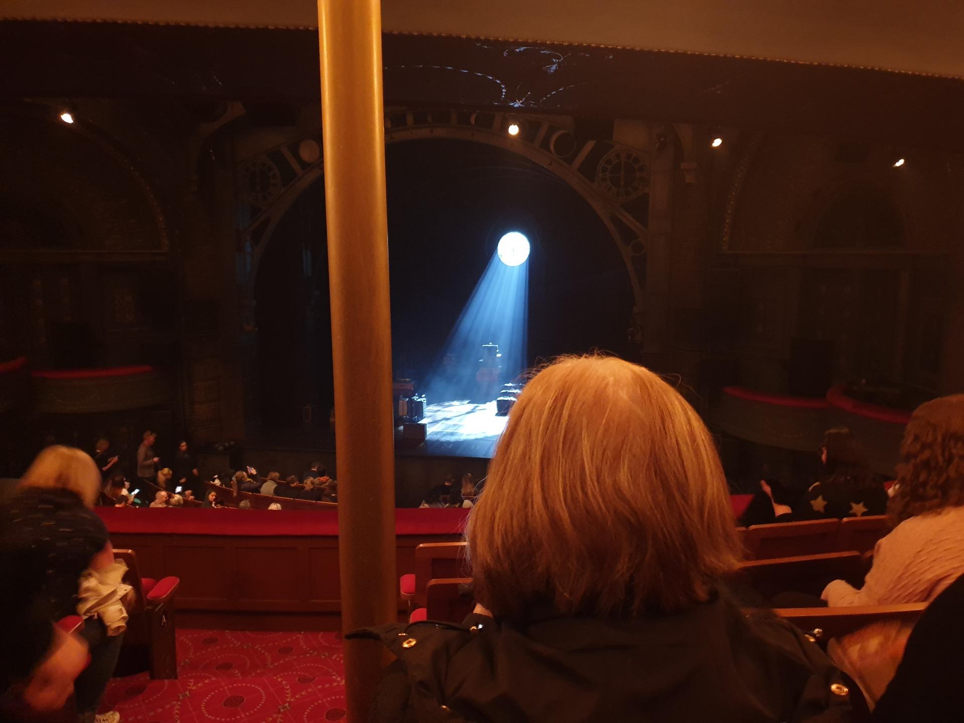 Princess Theatre (Melbourne) Section Dress Circle Row E Seat 29