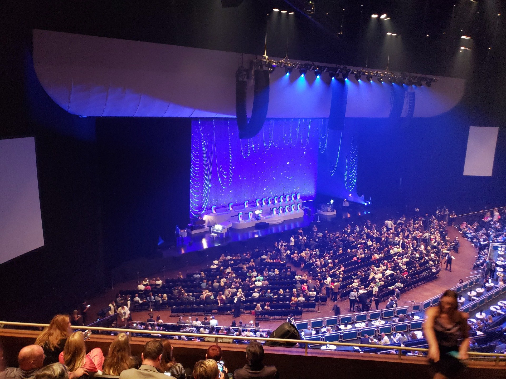 Park Theater at Park MGM Section 406 Row F Seat 3