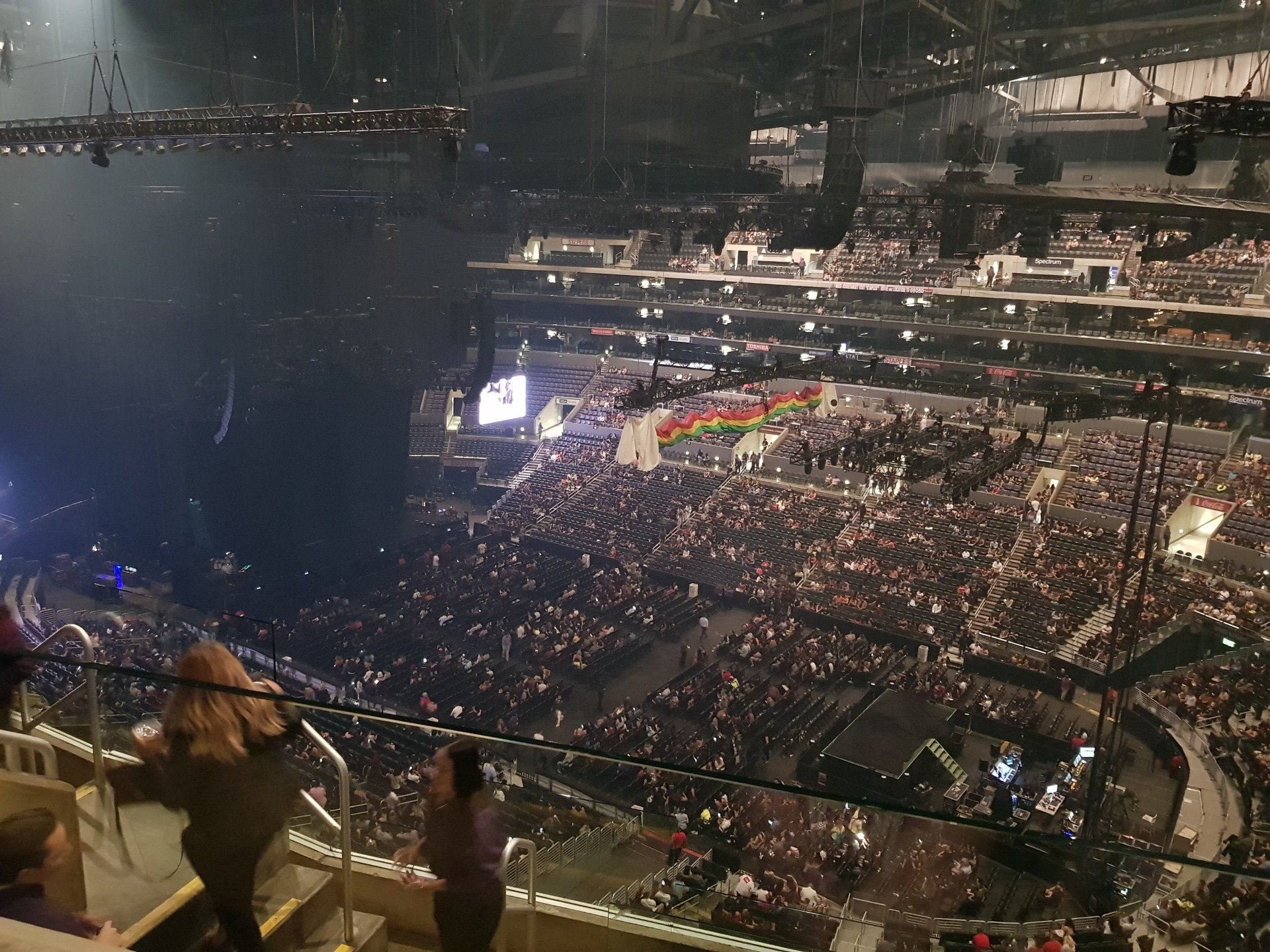 Staples Center Section 315 Row 6 Seat 18
