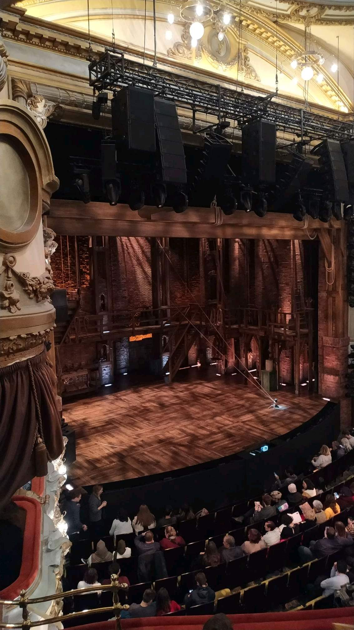 Victoria Palace Theatre Section Royal Circle Slip Row A Seat 7