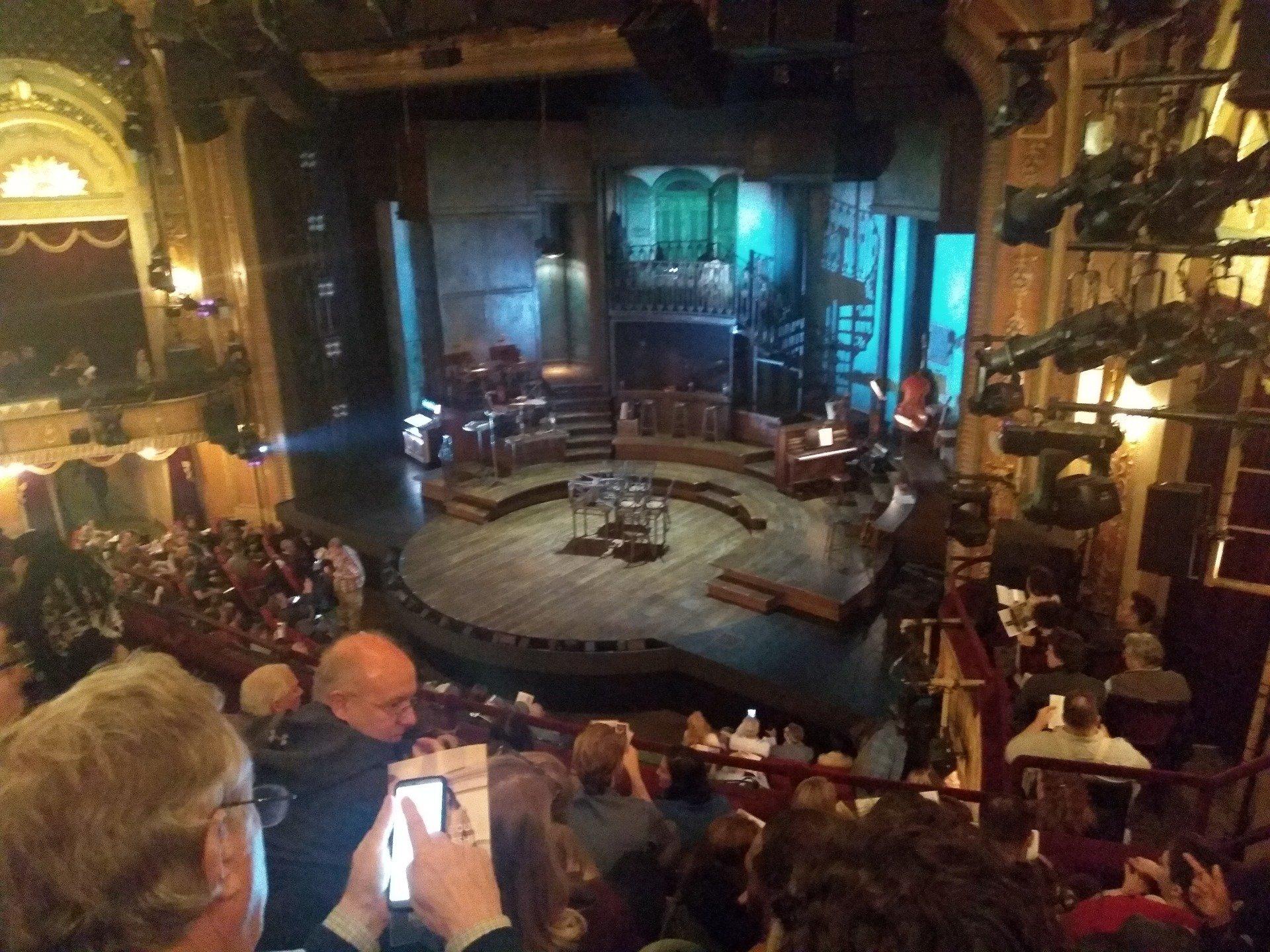 Walter Kerr Theatre Section Mezzanine R Row F Seat 26