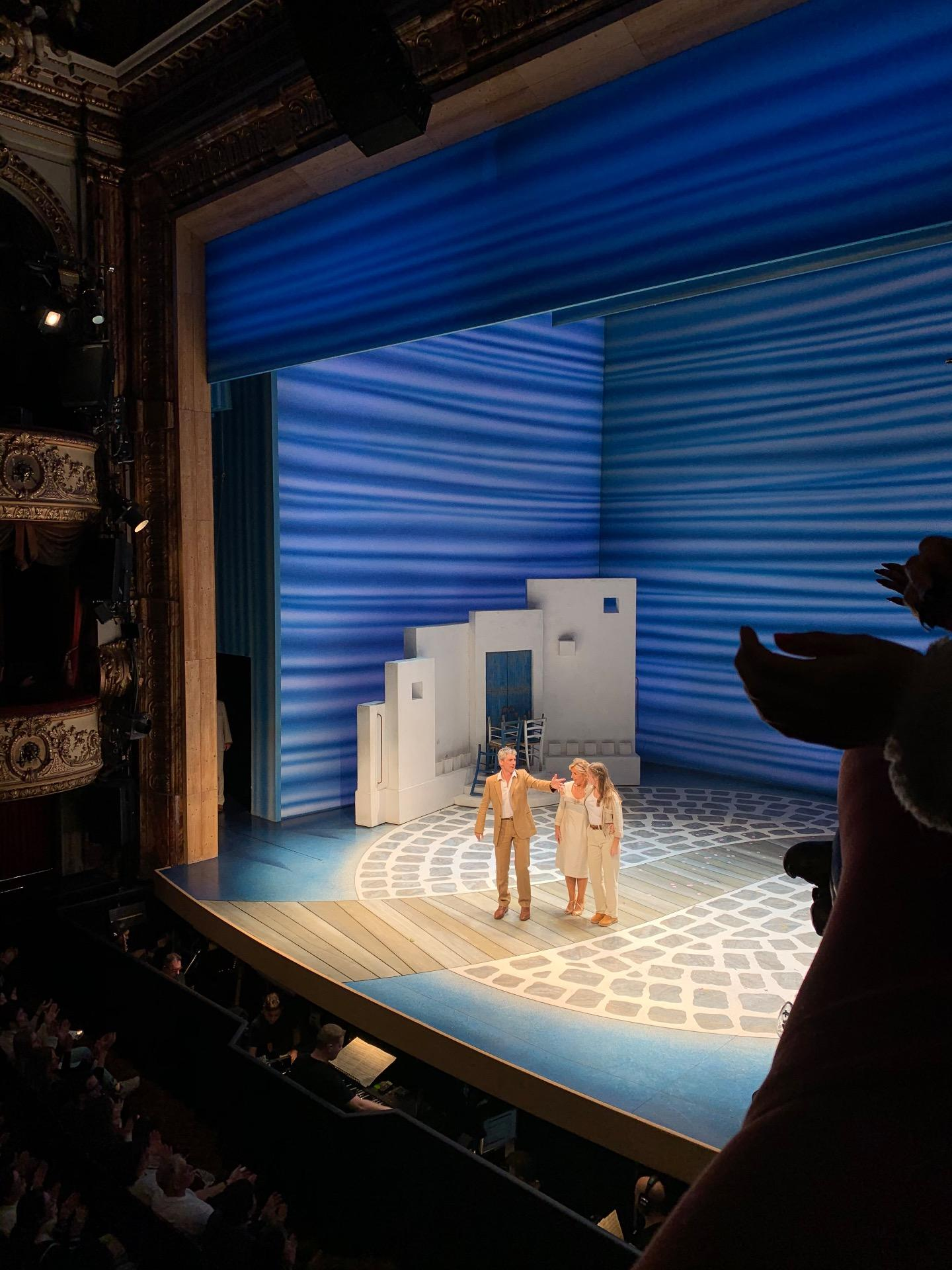 Novello Theatre Section Dress Circle Row AA Seat 6