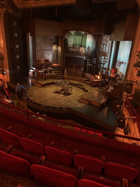 Walter Kerr Theatre Section Mezzanine R Row D Seat 20