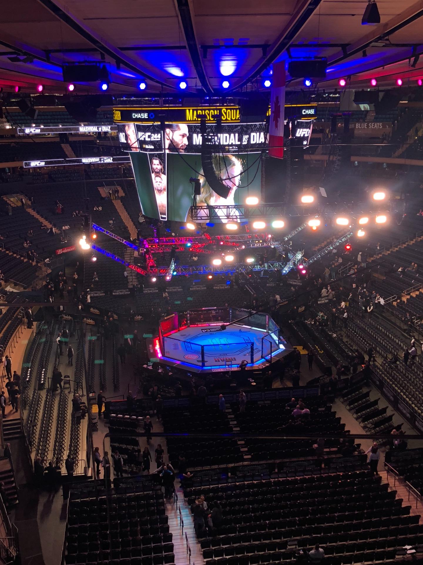 Madison Square Garden Section 203