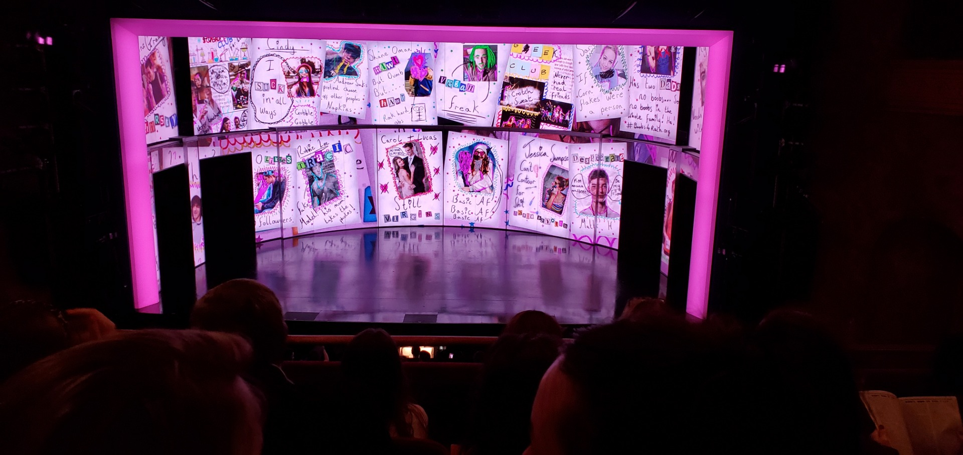 August Wilson Theatre Section Mezzanine C Row D Seat 105