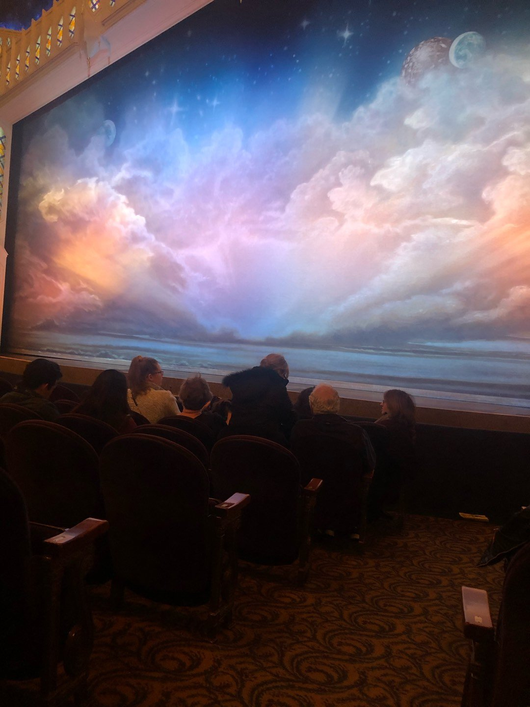 Eugene O'Neill Theatre Section Orchestra R Row G Seat 2