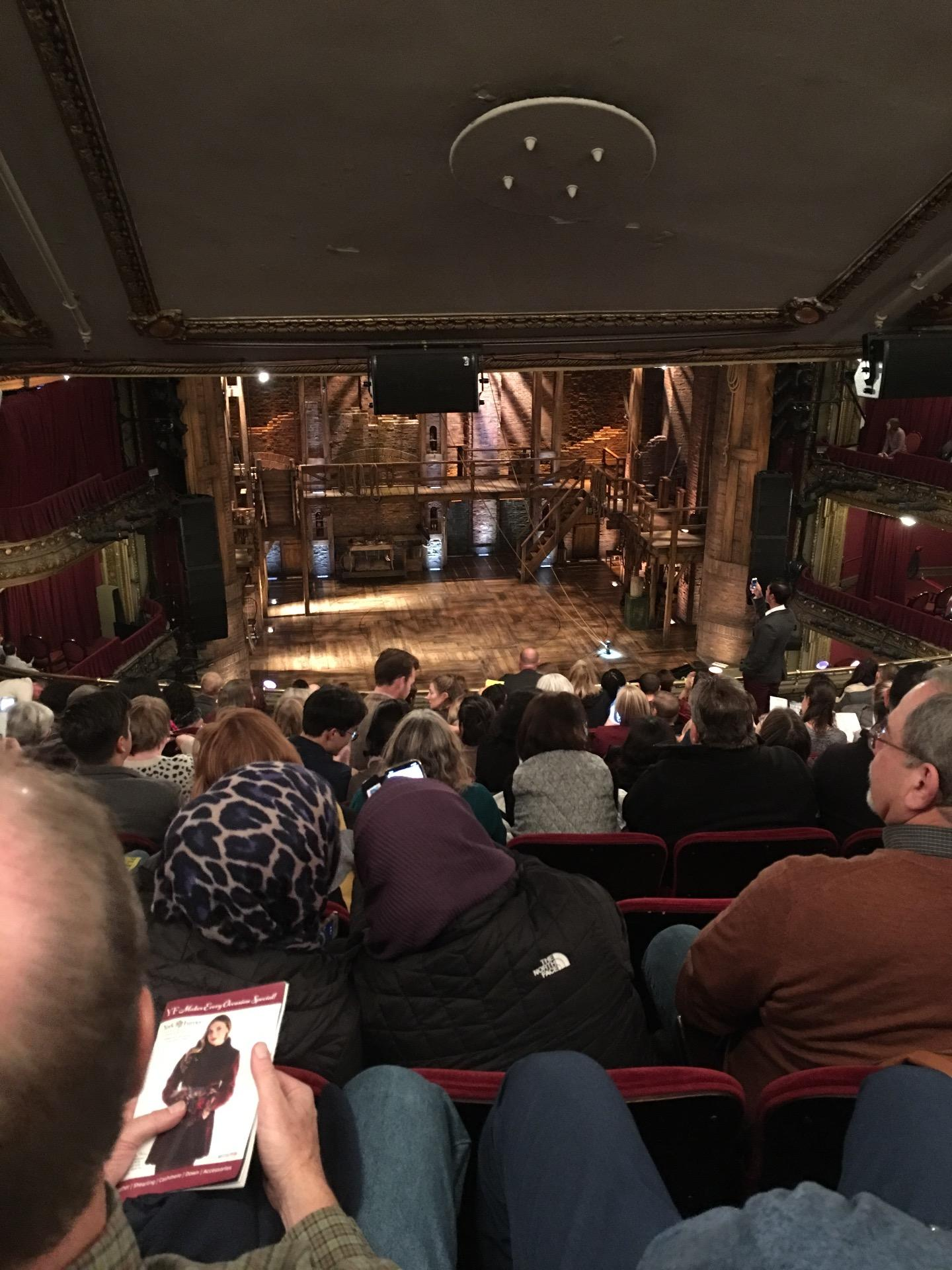 CIBC Theatre Section Mezzanine LC Row M Seat 317