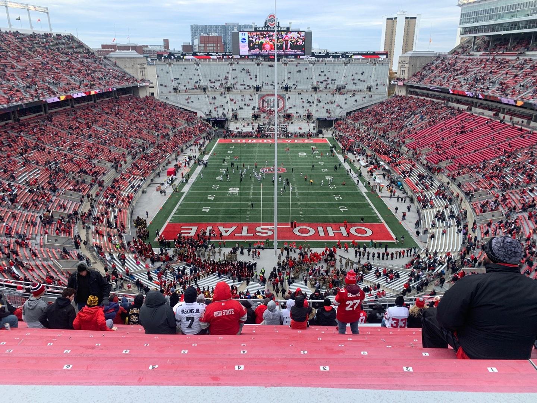 Ohio Stadium Section 2C Row 25 Seat 8