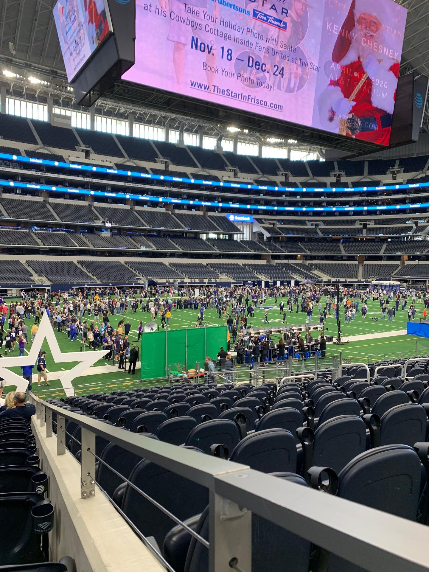 AT&T Stadium Section 142 Row 16 Seat 1