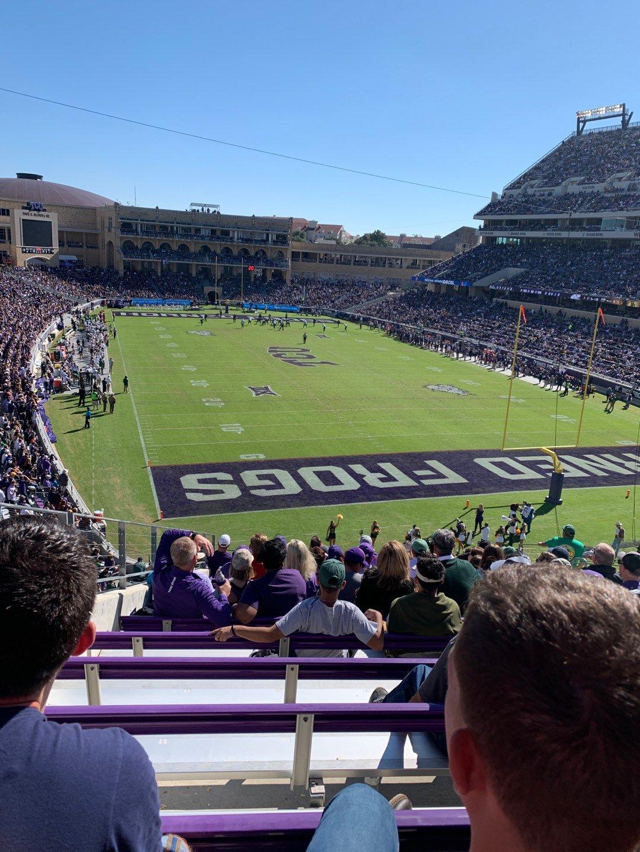 Amon G. Carter Stadium Section 224 Row N Seat 11