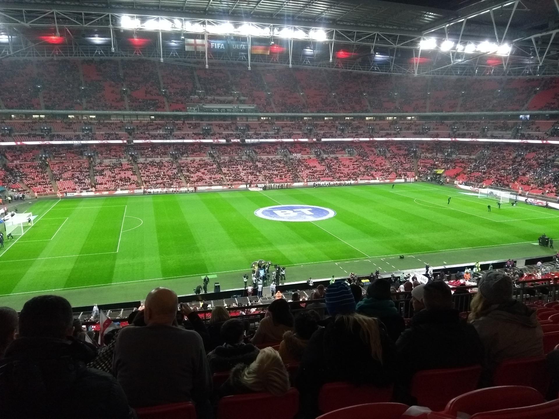 Wembley Stadium Section 203 Row 15 Seat 36