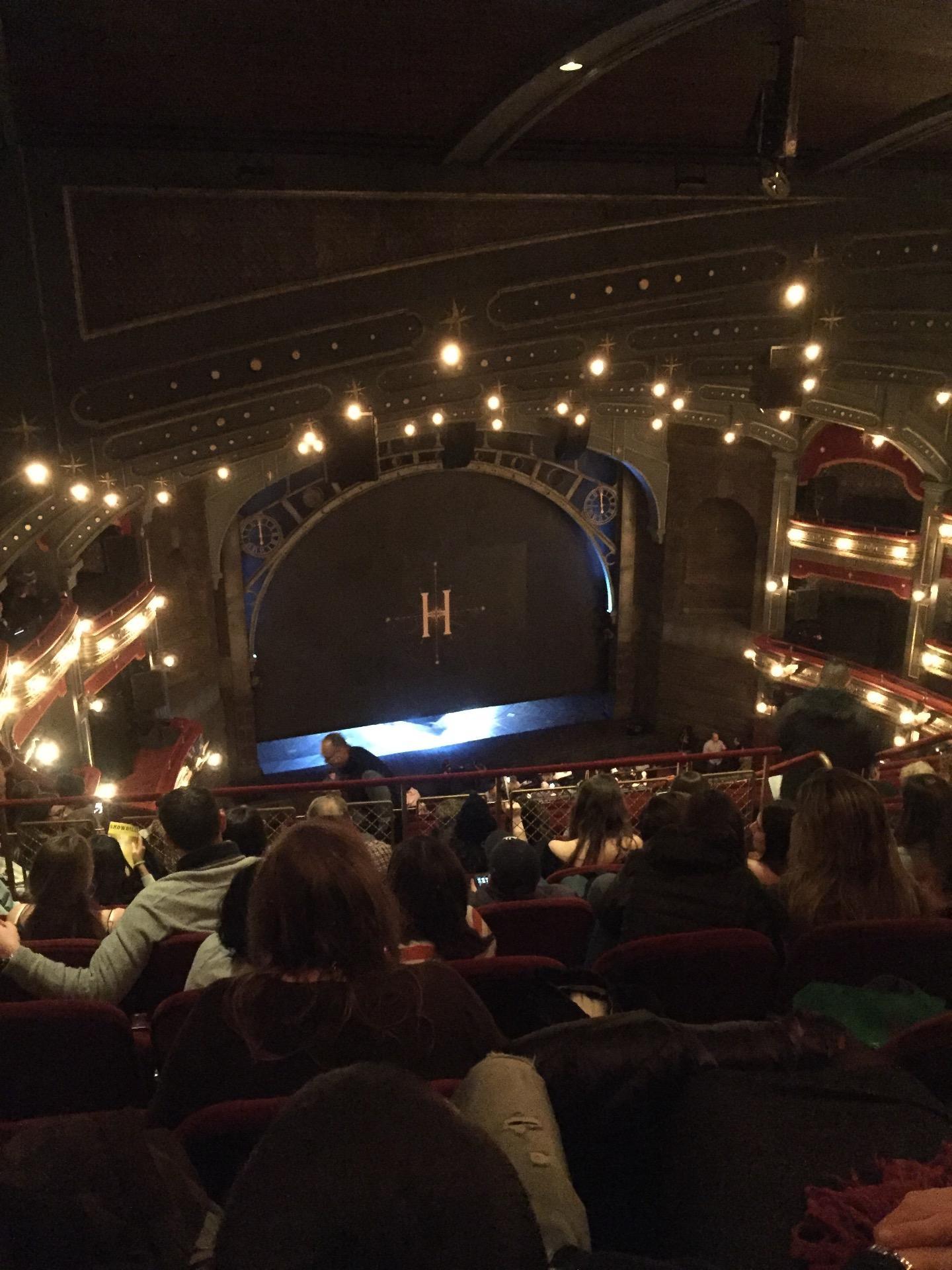 Lyric Theatre Section Balcony L Row H Seat 11