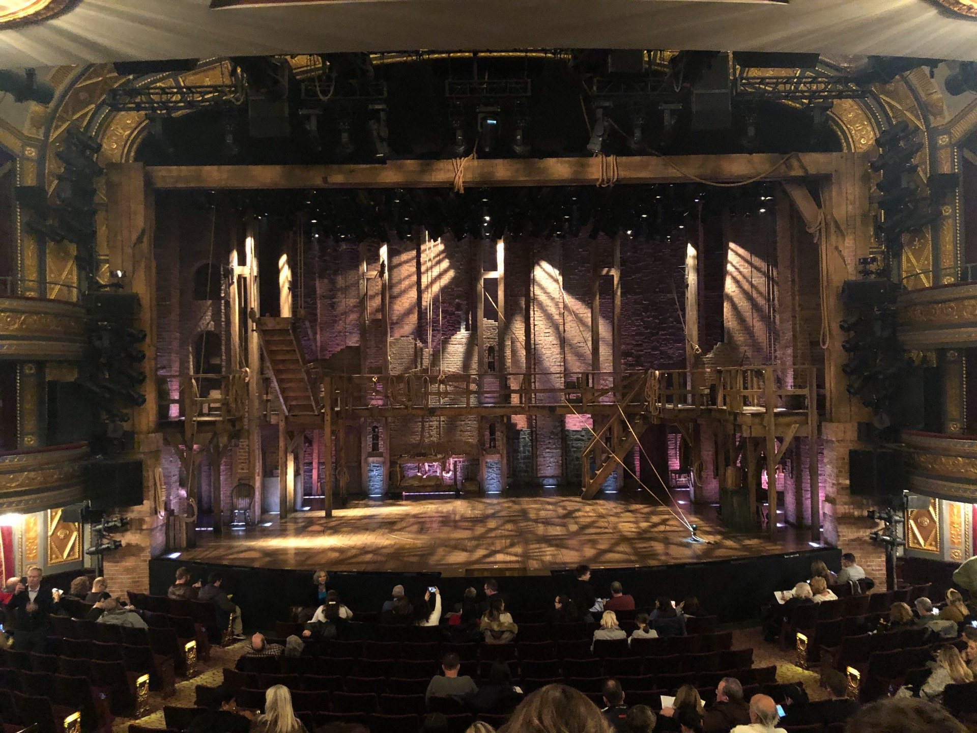 Richard Rodgers Theatre Section Orchestra C Row Q Seat 107