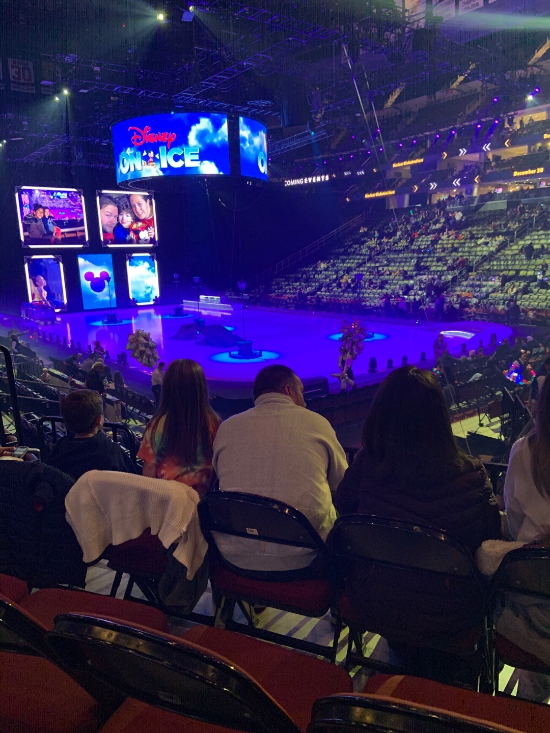 Prudential Center Section 22 Row 9 Seat 3-5